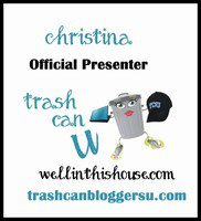Trash Can U Presenter Badge
