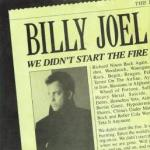 We Didn't Start the Fire by Billy Joel