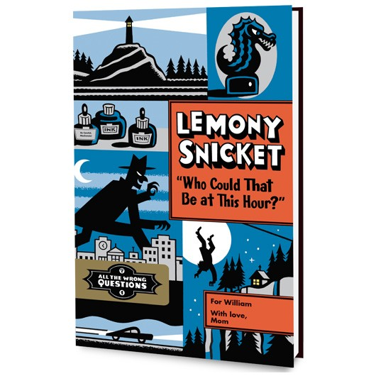 Lemony Snicket Who Could That Be At This Hour Book