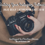 Building Your Instagram Following – Type-A Conference East 2016