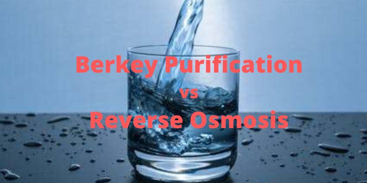 Berkey vs Reverse Osmosis