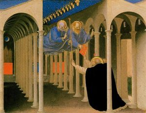 Fra Angelico - St. Peter and St. Paul Appear to St. Dominic