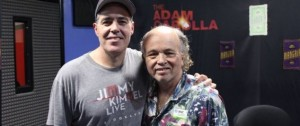 Clint Howard (left) with Adam Carolla.