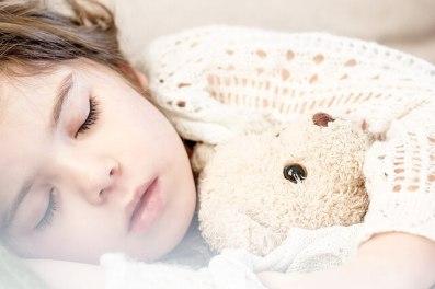 Wenn die Kinder schlafen kommt das Christkind