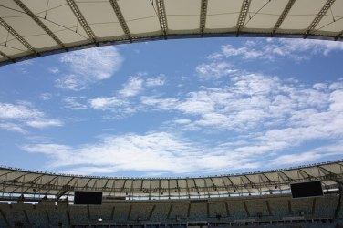 die Maracanã-Fußballarena