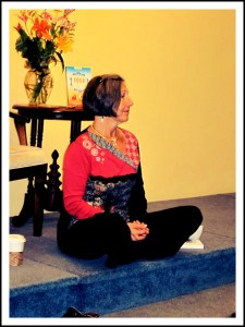 Kyczy Hawk yoga and the 12 steps - Book Signing