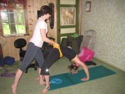 Susanna & Laura Sewall House Yoga Retreat Teen Teacher Training