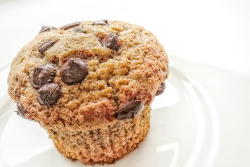 Chocolate Muffins with Nutella Surprise