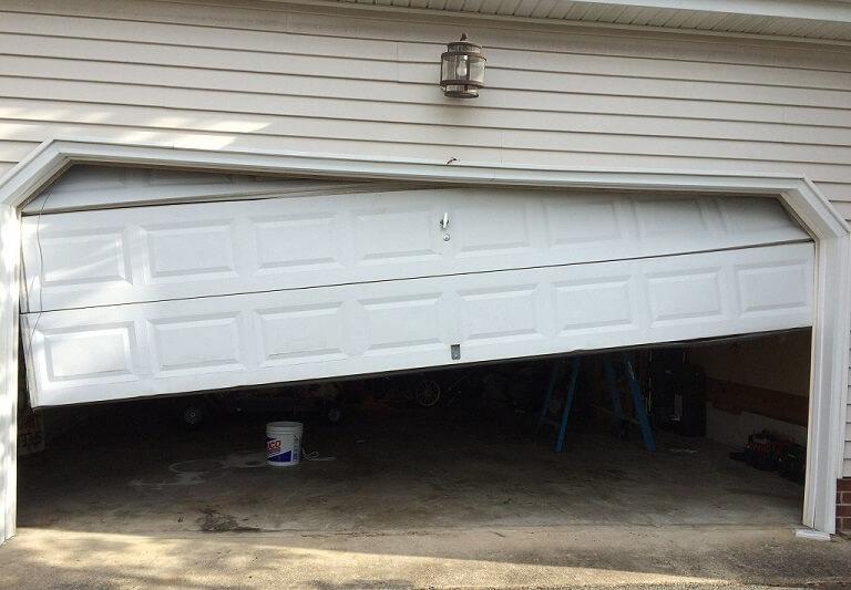 What to Do If Your Garage Door is Stuck  A1 Door Company