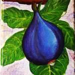 B Fruit du pays, sur toile