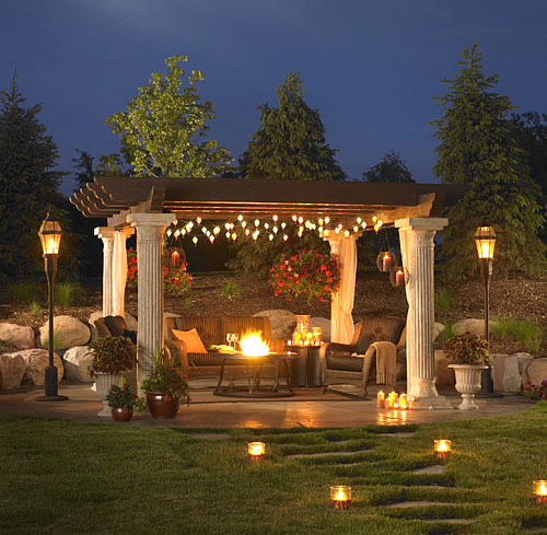 Outdoor Pergola Lights