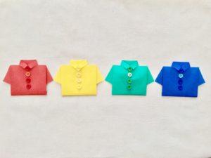 ポロシャツがしわや縮むのを防ぐ洗濯方法-洗濯のりや頻度