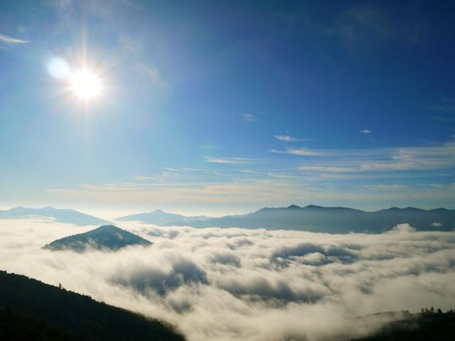トマムの雲海