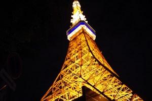 東京タワーライトアップ
