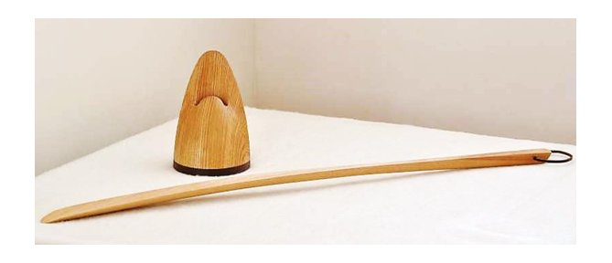 スタンド付き 靴べらスタンド / 木の小物 : 横浜都筑港北ニュータウン エイクラフティア