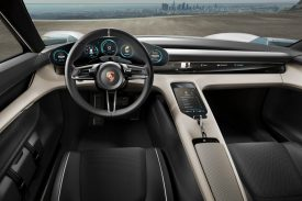 Porsche Mission E Interior Design