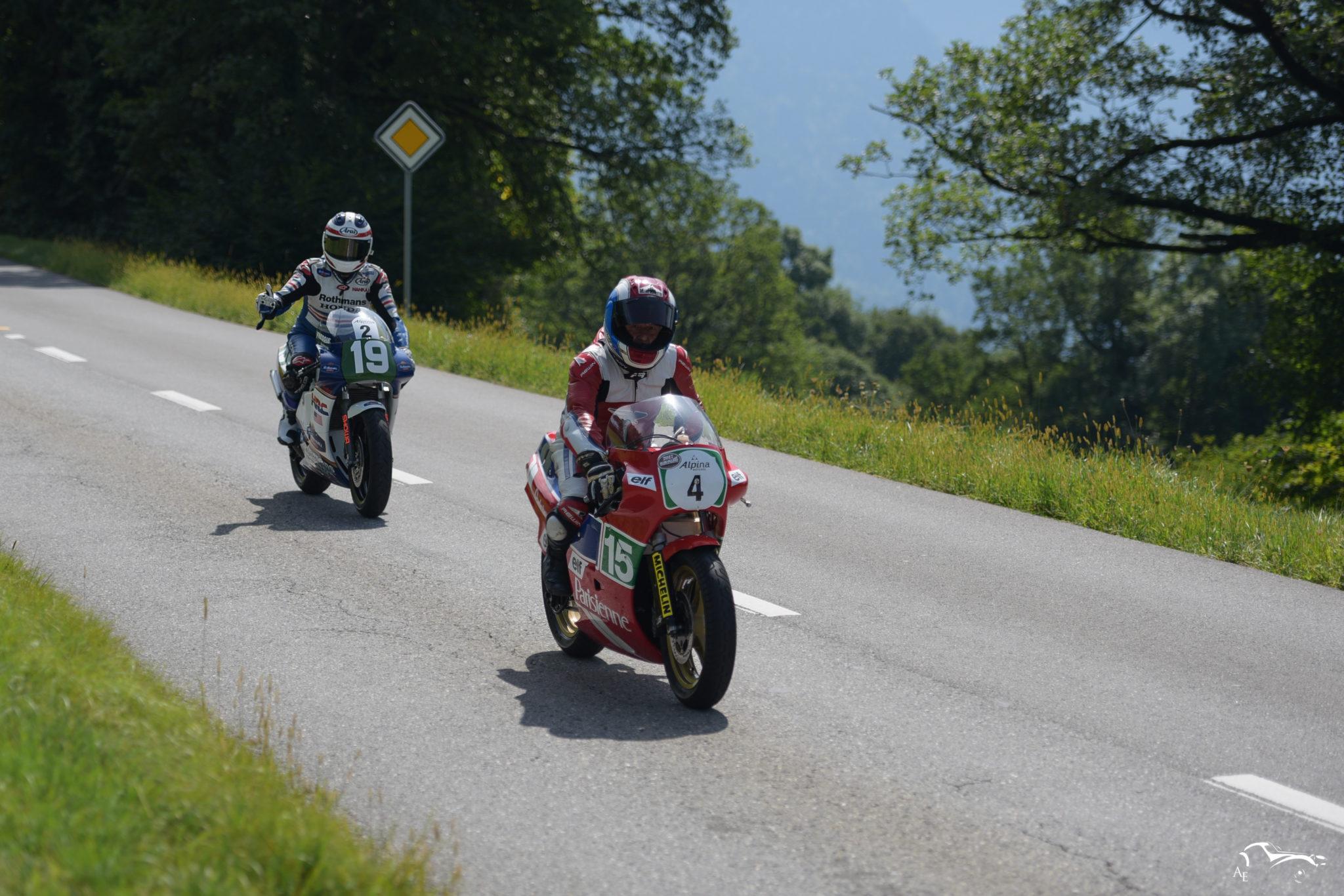 Honda 250 Parisienne 250 cc & Honda 500GP 500 cc