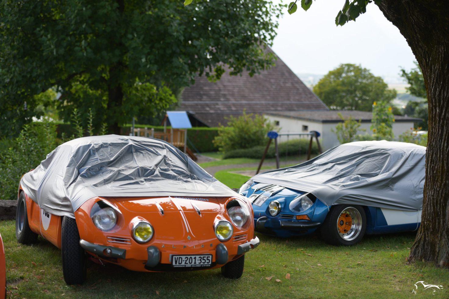 Alpine Renault A110 1296 cc 1968 & Alpine A110 1296 cc 1970