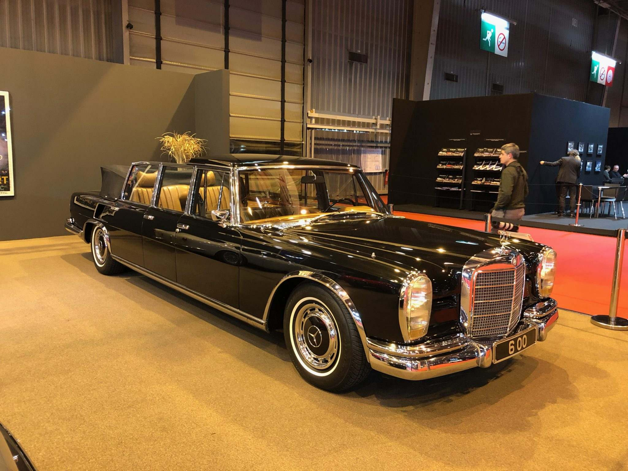 Mercedes 600 Pullman Landaulet, on the Axel Schuette stand