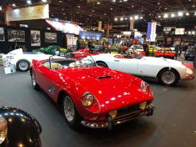 The 250 GT California Spider Passo Lungo with her predecessor, the 250 GT Cabriolet Pininfarina Series I (one of 40 ever made)