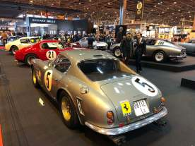 This 250 GT Berlinetta Passo Corto Competizione was driven by the Rodriguez brothers for the North American Racing Team.