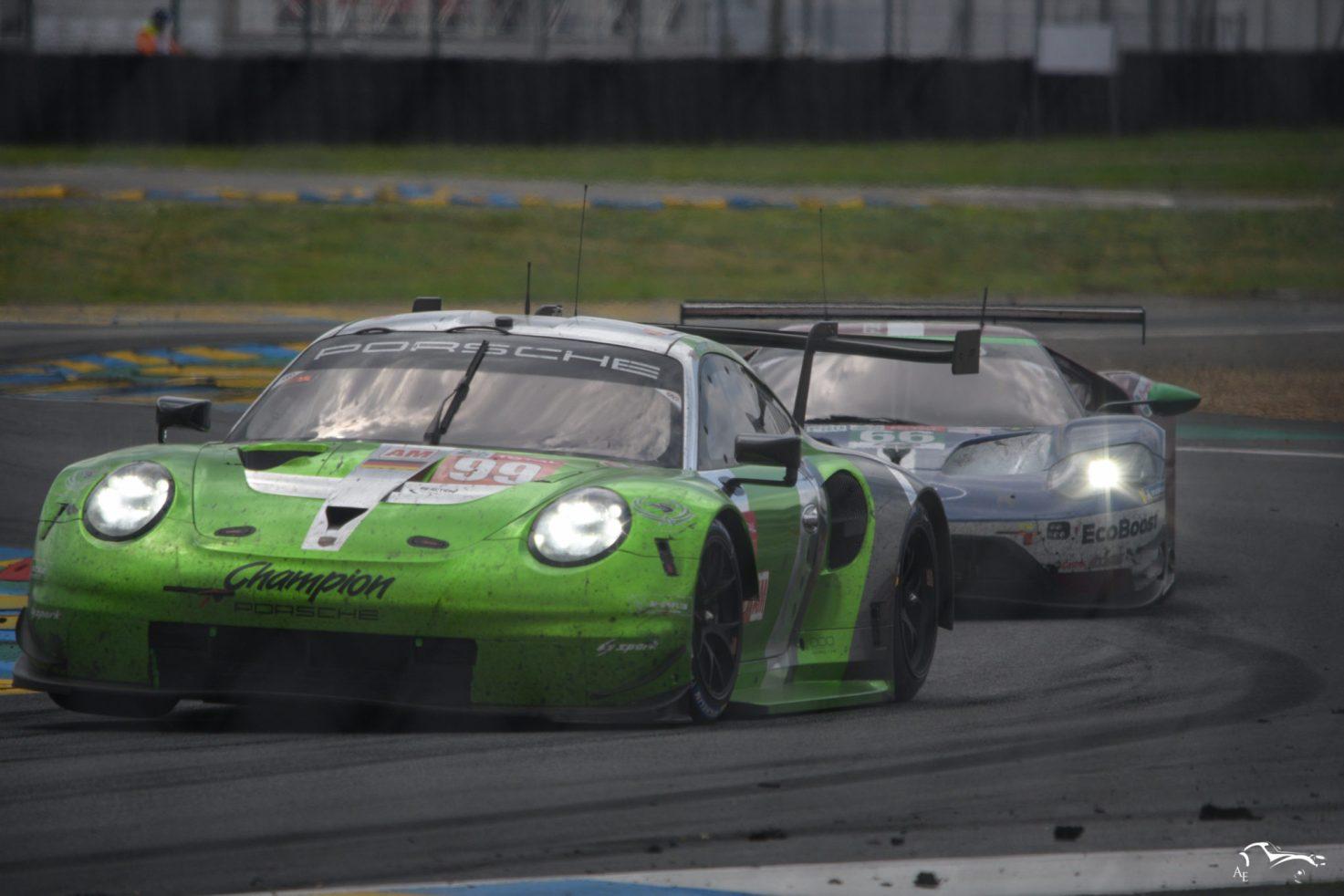Porsche 911 RSR & Ford GT GTE Ecoboost