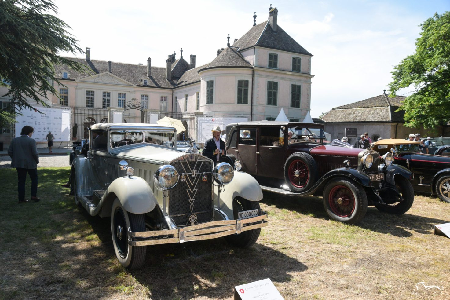Isotta Fraschini Type 8A & Hispano Suiza H6 Dual Cowl Twin-Cockpit Open Tourer