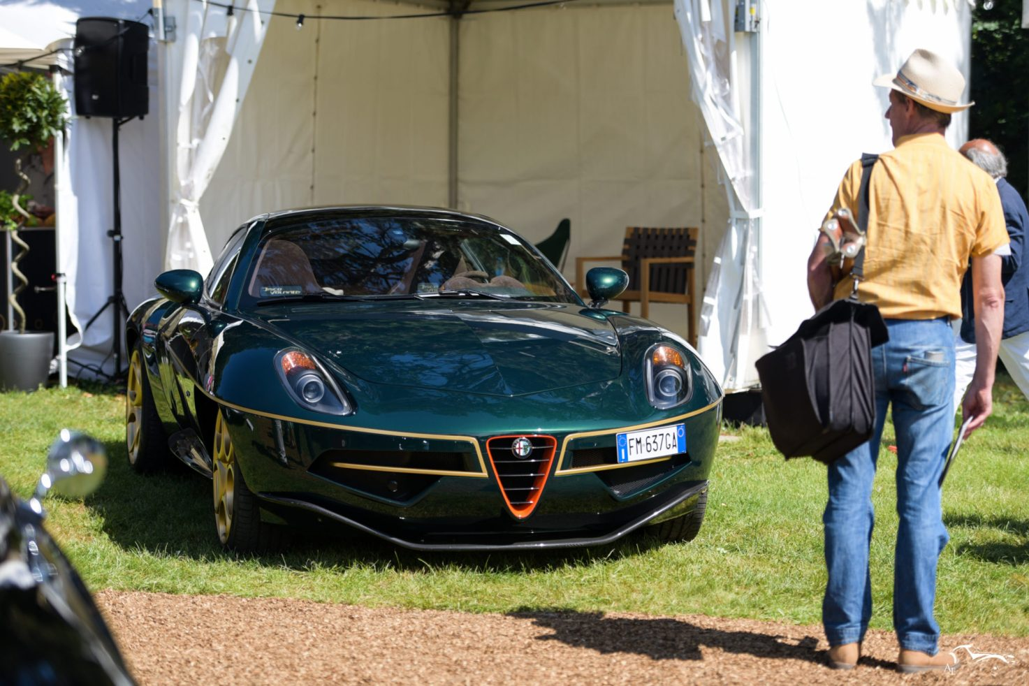 Alfa Romeo Disco Volante (by Touring)