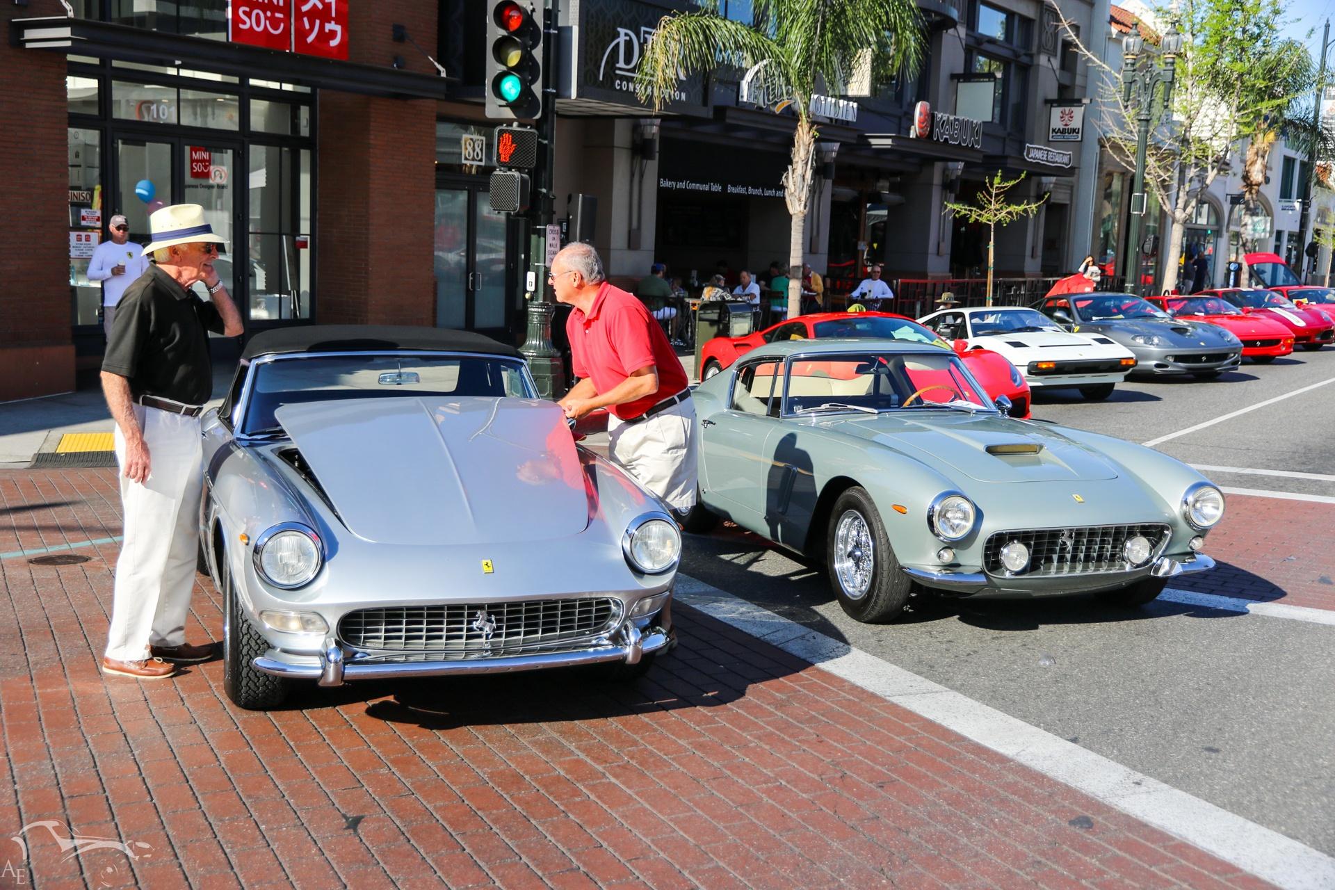 Ferrari 275 GTS and 250 GT SWB