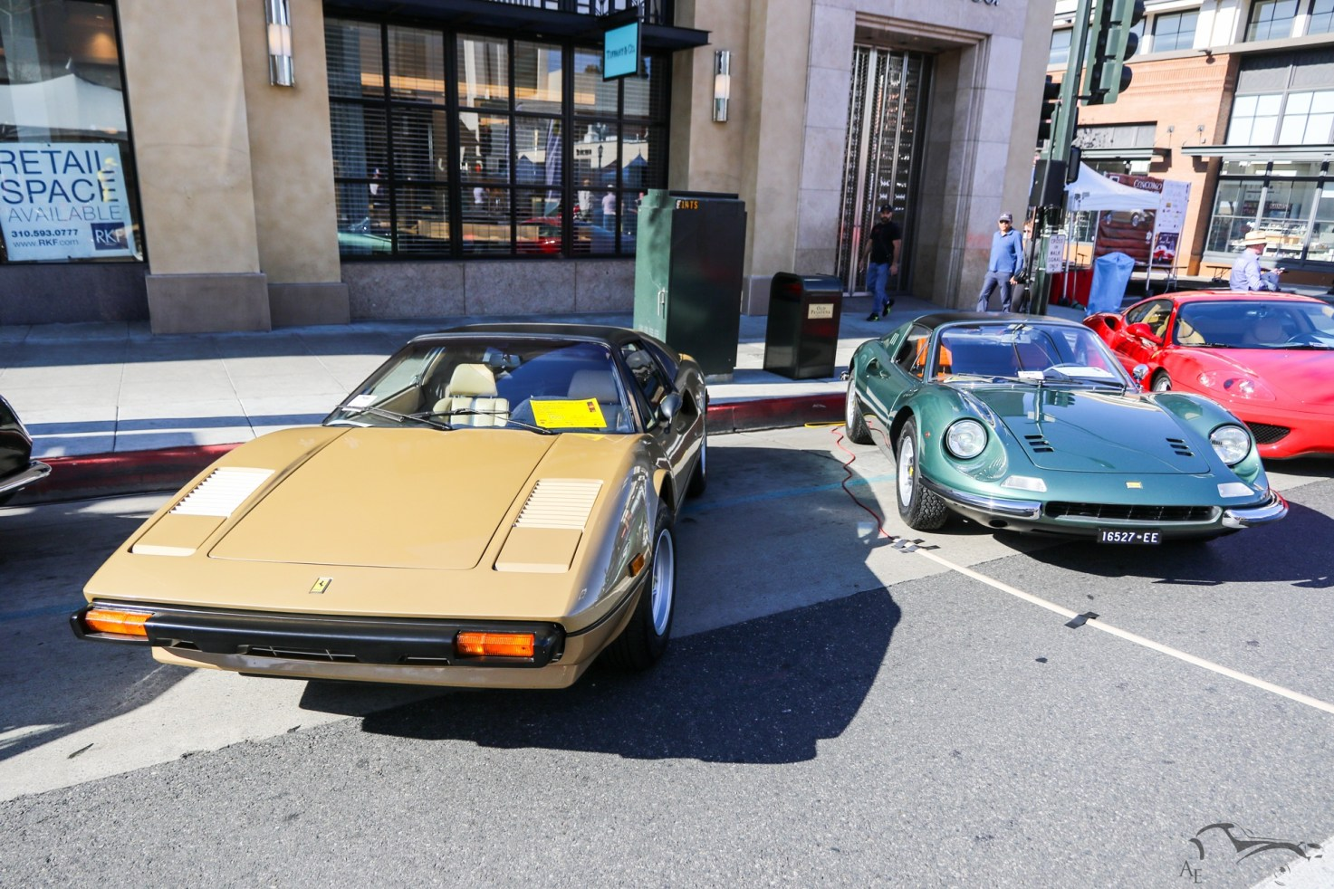 Ferrari 246 Dino GTS and 308 GTS