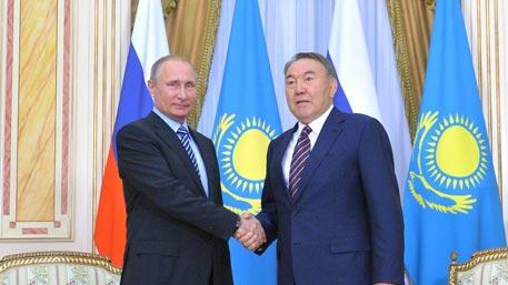 Путин иНазарбаев пообщались нагорнолыжном курорте вблизи Алма-Аты