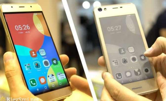 Hisense представили смартфон A2, оснащенный 2-мя дисплеями