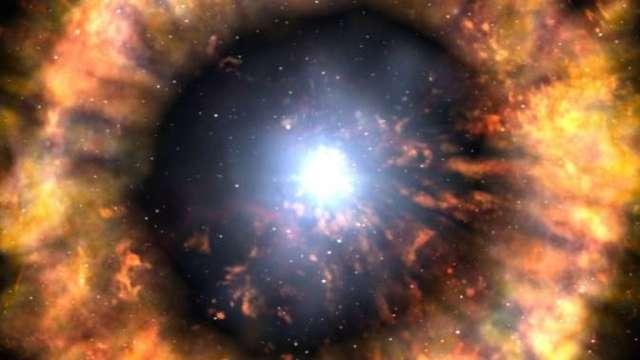 Учёные впервые увидели начало жизни сверхновой звезды