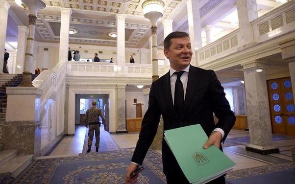 Радикал Олег Ляшко депутаты ВР не могут управлять даже своим'Х