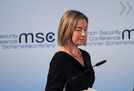Лавров иМогерини обсудили ситуацию вДонбассе