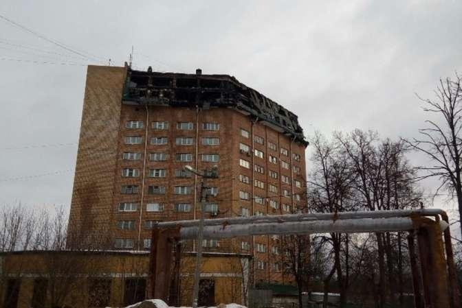 Спасшихся изогня вНаро-Фоминске поселили вгостиницу