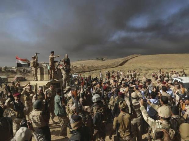 Иракские войска наступают назападную часть Мосула