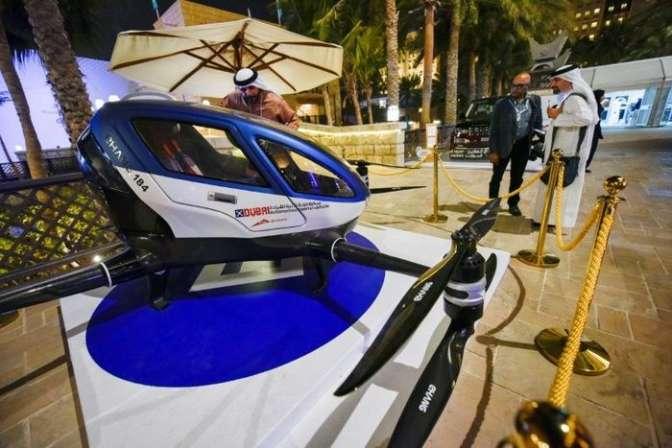 Коммерческое летающее такси появится вДубае летом 2017-ого
