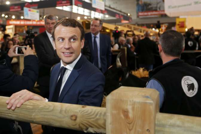 Вкандидата впрезиденты Франции метнули яйцо