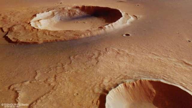 ESA нашло новые следы глобального потопа на Марсе