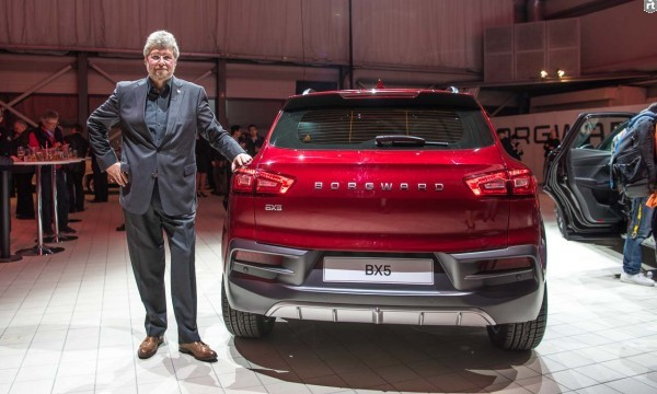 Кроссовер Borgward BX5 поступит в продажу в Китае 24 марта