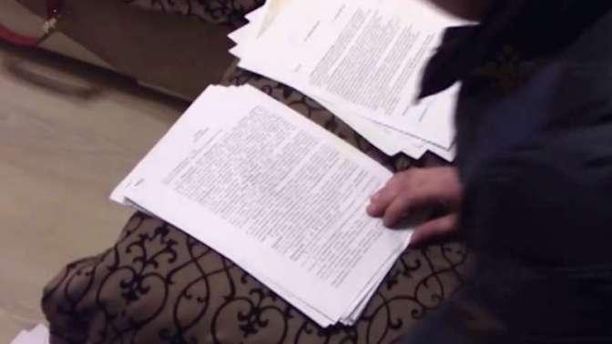 Следователи изъяли ужурналистки Световой документы итехнику