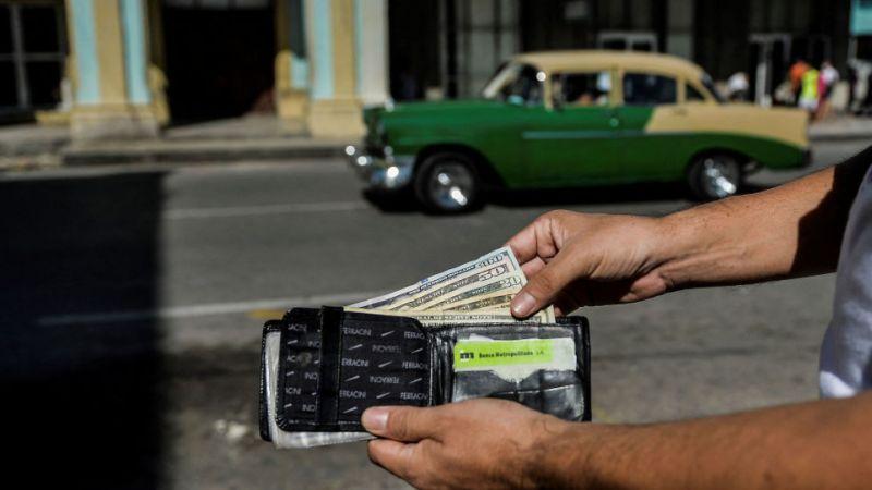 Центральный банк Кубы приостанавливает депозиты в долларах США