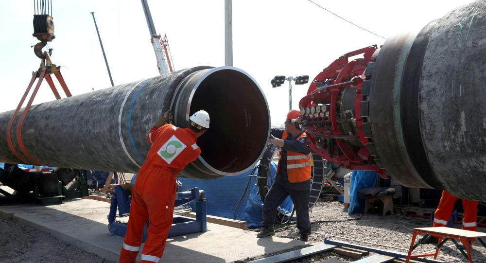 Строительство «Северного потока-2» завершится в течение нескольких недель, заявили в МИД России