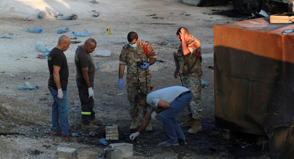 Взрыв танкера-газовоза в Ливане, как сообщается, произошел после споров по поводу топлива