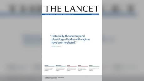 «Тела с вагинами» ?!  Lancet раскритиковали за « стирание женщин » за продвижение последнего номера с противоречивой цитатой