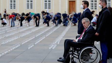 Комитет сената Чехии рассмотрит, сможет ли госпитализированный президент Земан остаться в должности