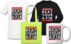 Spreadshirt shop= Beat your a-fib - 4 piece 240 x 150 at 96