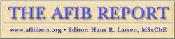 The AFIB Report masthead