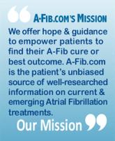 A-Fib.com Mission Statement